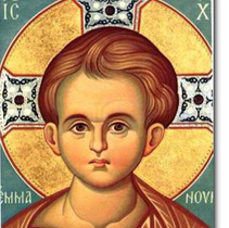 Icon of Childhood Christ