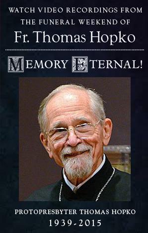 Fr. Hopko Funeral Live Stream