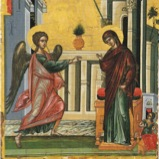 Apolytikon of the Feast of the Annunciation, Tone 4